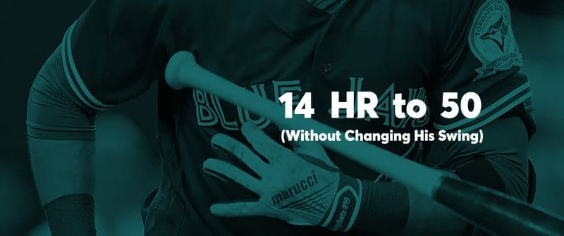 How This MLB Player Went From 14 HR to 50 (Without Changing His Swing)