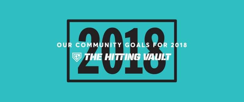 2018 Hitting Goals