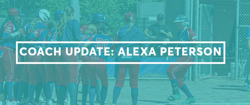 Coach Update: Alexa Peterson - The Hitting Vault