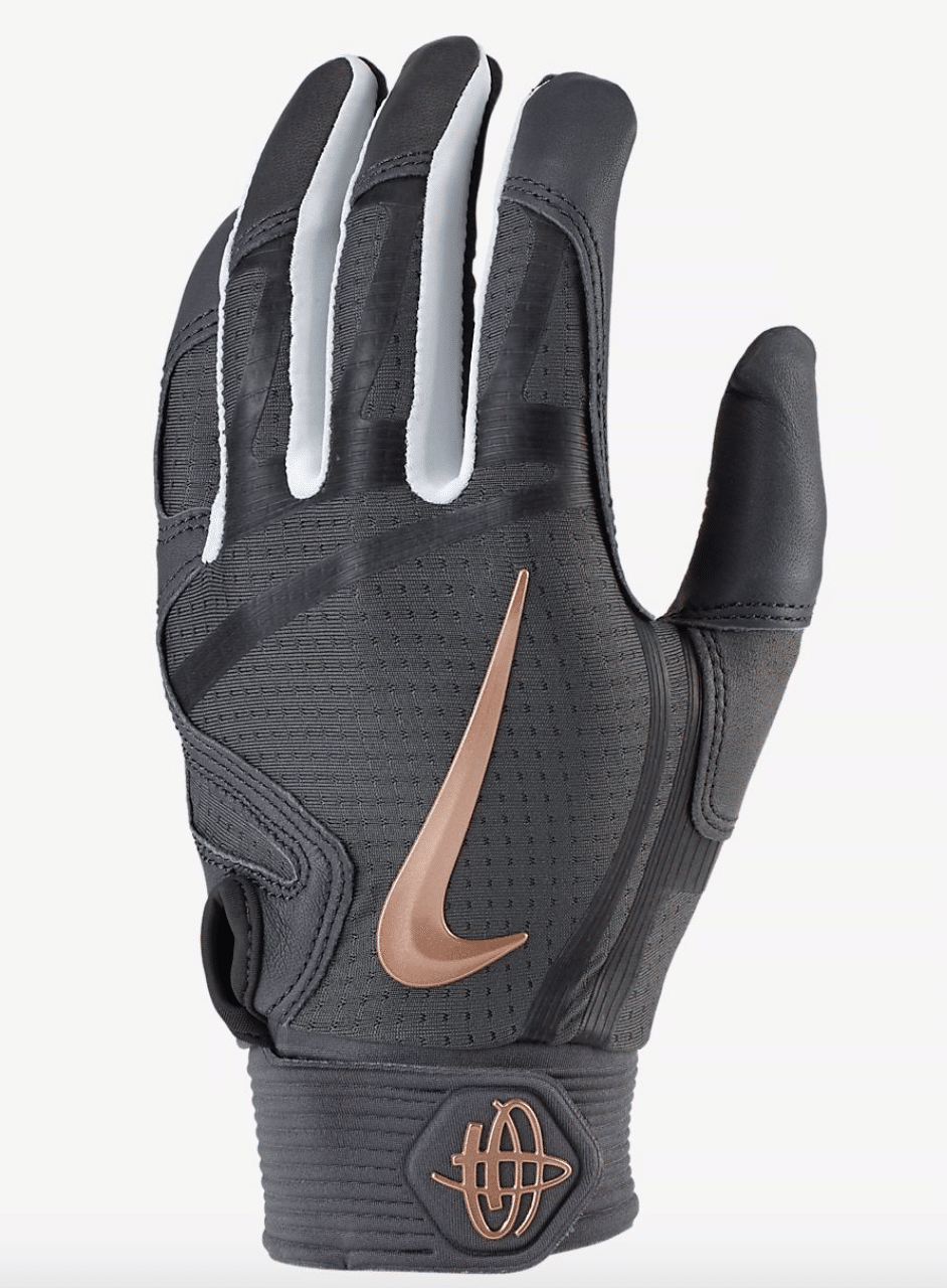 best-batting-gloves-nike-huarache-elite-black