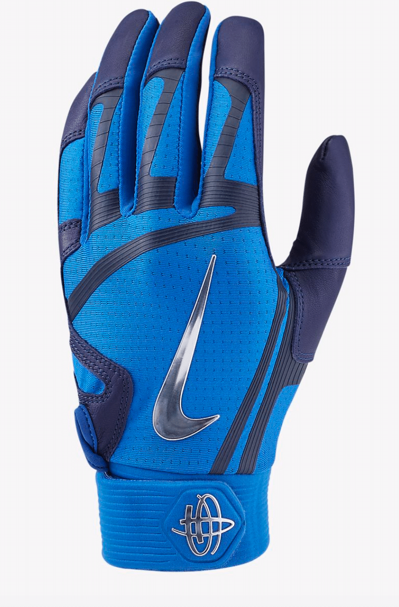 best-batting-gloves-nike-huarache-elite-blue