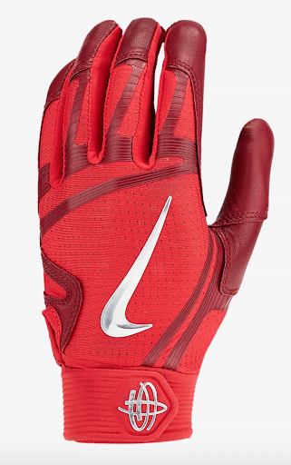 best-batting-gloves-nike-huarache-elite-red