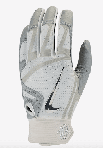 best-batting-gloves-nike-huarache-elite-white