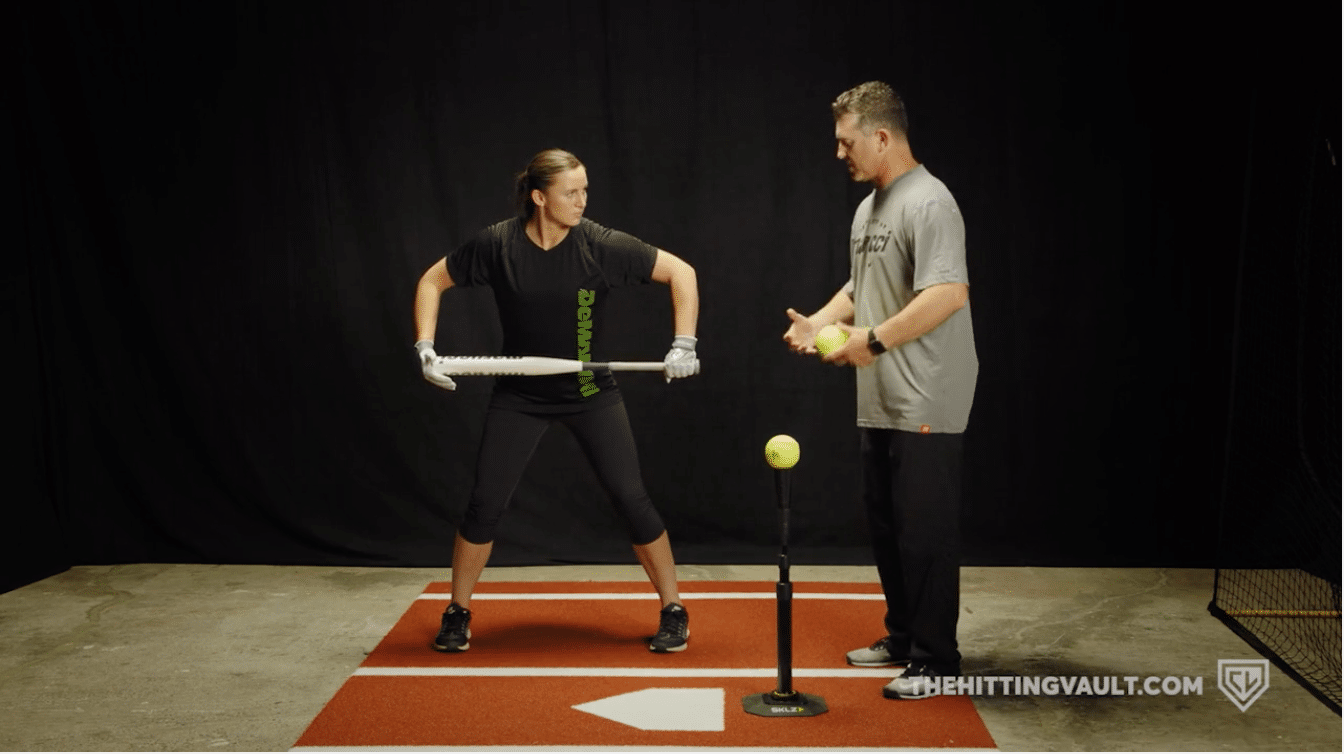 Rock the Baby Drill - a timing drill for baseball and softball hitters