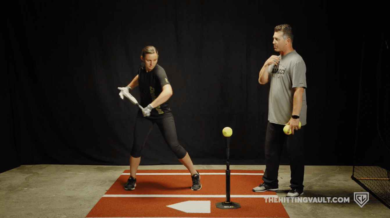 Rock the Baby Hitting Drill - Incorrect Movement 2