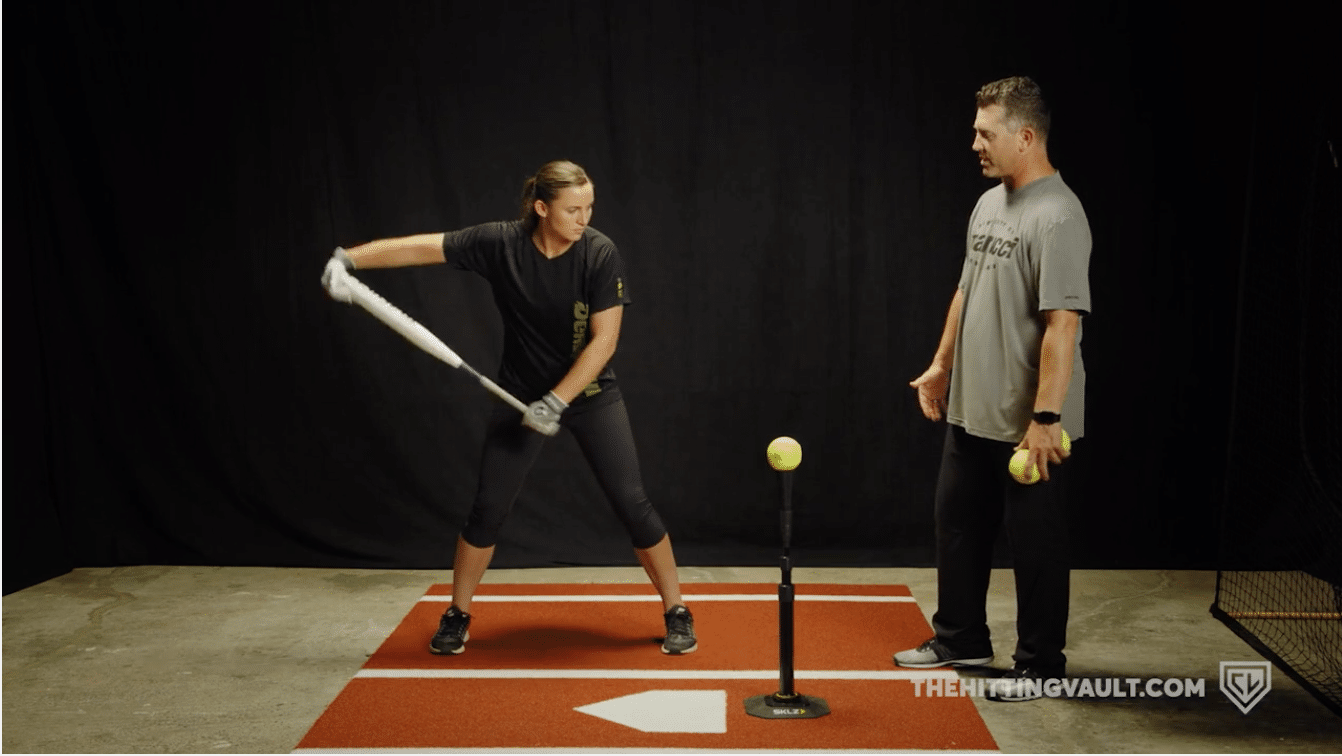 Rock the Baby Hitting Drill - Incorrect Movement 1